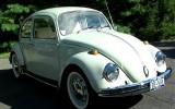 "1968 Green VW Beetle ""Hermin"""