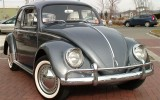 1964 Charcoal Gray VW Beetle BuG