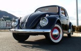 Classic 1959 VW Beetle BuG Black Sedan