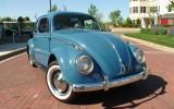 "Classic 1959 VW Beetle BuG ""Smurf"""