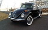 1971 Black Standard VW Beetle Bug Semi Auto
