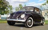 Vintage 1958 Ragtop VW Beetle BuG