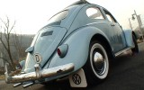 1961 VW Beetle Ragtop BuG Iris Blue