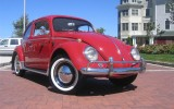 The 1964 Lil Red VW Beetle LuV BuG
