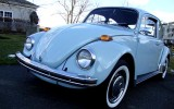 1970 VW Beetle BuG Diamond Blue Classic Sedan