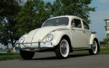 Another Pearl White 1962 Classic VW Beetle BuG