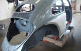 Joe & Barb's Vintage Classic 1954 VW Beetle *Build-A-BuG* Project Sedan