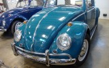 Classic 1966 VW Beetle BuG Sea Blue Sunroof Vintage Sedan SOLD!