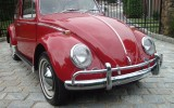 Classic VW BuGs Road Trip Barn Find All Original 1965 Ruby Red Beetle SOLD!