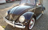 Classic VW BuGs 1956 Oval Window Black Beetle FOR SALE!