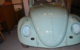 Classic VW BuGs 1962 L380 Turquoise French Euro Import Beetle Project