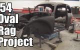 Classic VW BuGs 1954 Beetle Ragtop Sunroof Body Work Update 5-12-16