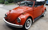 Classic VW BuGs 1970 Convertible Clementine Orange Beetle FOR SALE!
