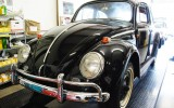 Classic VW BuGs 1964 Volkswagen Beetle with 22 miles to be displayed