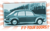 Classic VW BuGs The Forgotten Four Door Sedan Beetle