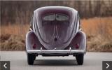Classic VW BuGs 1950 Split Window Beetle L51 Crosses the Auction Block