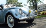 *Classic 1955 VW Beetle BuG Oval Sedan Iris Blue*