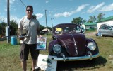 "Chris Vallone wins ""Best in Class"" & ""Best in Show"" at Terryville Bug-a-Fair Show 2013 1952 Split Window Beetle"