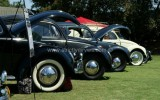 Classic VW BuGs comes back from the 2013 So Cal Vintage Treffen Car Show