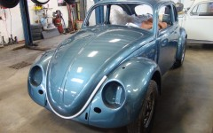 Classic VW BuGs Project 1958 Vintage Beetle Sedan Body off *Build-A-BuG* Restoration