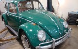 Classic VW BuGs, 1966 Sunroof Beetle Java Green *Vallone* Project