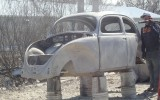 Classic VW BuGs '55 Beetle Ragtop Resto for Lucky Larry, new Video!