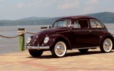 Classic VW BuGs 1952 Split Window Zwitter Beetle Accepted to Greenwich CT Concours D' Elegance