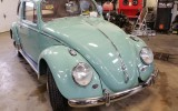 Classic VW BuGs 1962 Turquoise French Euro Import turns *Build-A-BuG* Project