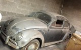 Classic VW BuGs Latest Project, a 1954 Strato Silver Sunroof Oval