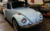 Classic VW BuGs 1970 Volkswagen Beetle Sedan Diamond Blue SOLD