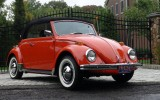 Classic VW BuGs 1970 Convertible Clementine Orange Beetle SOLD!