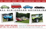 Classic VW BuGs All Air-Cooled Gathering Show in Flanders NJ this Weekend