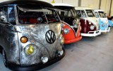 Classic VW BuGs; Italian Company Restores Vintage Volkswagen Campers for Wealthy Clients