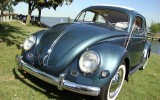 *Vintage 1956 VW Oval Beetle BuG Ragtop*