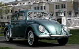 SOLD! My Vintage 1955 Ragtop Sunroof VW Beetle Bug