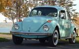 1971 VW Beetle BuG Baby Blue Sedan