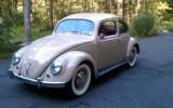 Classic Vintage 1954 Concours VW Beetle Light Beige Bug for Sale!