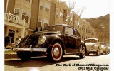 Classic VW BuGs 2013 18 Month Calendar Now on Sale!
