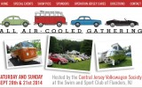 Classic VW BuGs heads to 10th Anniv. All Air-Cooled Gathering Flanders NJ