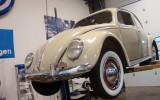 Classic VW BuGs Restored '53 Oval Window Sahara Beige Beetle SOLD!