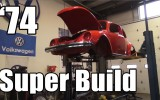 Classic VW BuGs 1974 Super Beetle Restoration Body Off Project