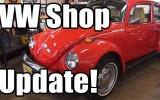 Classic VW BuGs Shop Update 12_16_16 1974 Super 1967 & 1962 Beetles
