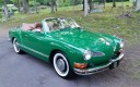 Classic 1973 Karmann Ghia Convertible Show Driver FOR SALE