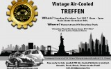 Classic VW BuGs New York 2017 Vintage VW Air-Cooled Treffen Show October 1st