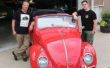 Classic VW BuGs Chris Vallone USA TODAY Journal News Beetle Restoration Story 2017