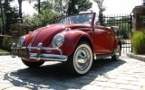 Classic VW BuGs 1960 Paprika Red Beetle Convertible SOLD!