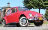 Classic VW BuGs 1967 Ruby Red Beetle Sunroof SOLD