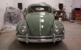 Classic VW BuGs 1957 Oval Window Bug Agave Green For Sale!