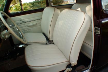 ... 1960 Burgundy Interior 1958 Evergreen VW Beetle ...