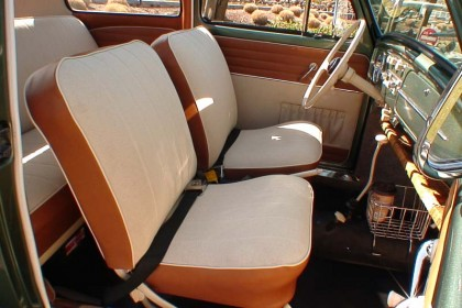 1958 Evergreen Ragtop Interior